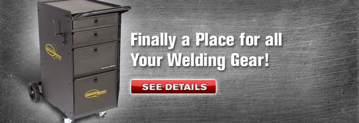 Finally A Place For All Your Welding Gear! | See Details