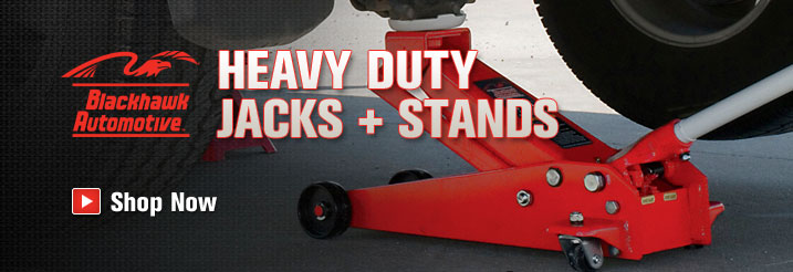 Blackhawk Automotive Jacks + Stands | Shop Now