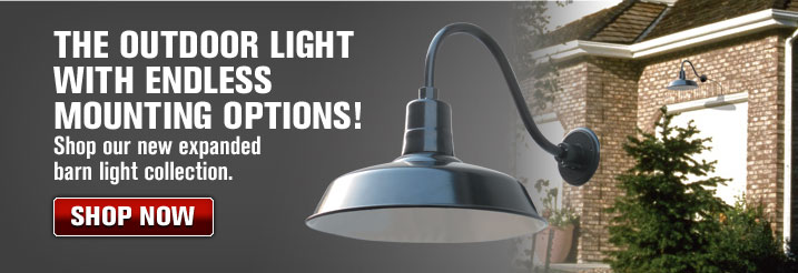 The outdoor light with endless mounting options!