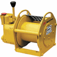 Air-Powered Winches