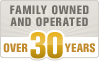 Over 30 Years in Business!
