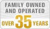 Over 35 Years in Business!