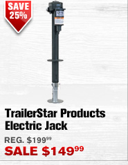 TrailerStar Products Electric Jack