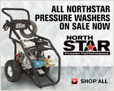 All Northstar Pressure Washers On Sale Now