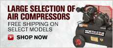 Large Selection Of Air Compressors