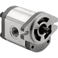 Dynamic Fluid Components High Pressure Hydraulic Gear Pump — 3650 Max. PSI, Spline 9-Tooth Shaft, Model# GP-F20-12-S9-C The price is $119.99.