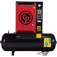 FREE SHIPPING — Chicago Pneumatic Quiet Rotary Screw Air Compressor — 7.5 HP, 230 Volts, 3 Phase, Model# QRS7.5HP-3 The price is $7,199.99.