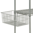 Quantum Wire Shelving Accessories — Utility Basket, Model# UB10 The price is $29.99.