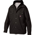 Tough Duck Men's Shirt with Hood - 3XL, Black The price is $64.99.