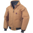 Tough Duck Men's Hooded Bomber - M, Brown The price is $109.99.