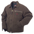 Tough Duck Washed Chore Jacket — 3XL, Chestnut