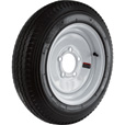 Kenda Loadstar 12in. Bias-Ply Trailer Tire and Wheel Assembly — 20.5 x 4.80 x 12, 5-Hole, Load Range B, Model# DM412B-5IN The price is $69.99.