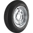 4-Hole Galvanized Wheel & Tire — 20.5 x 480 x 12 The price is $69.99.