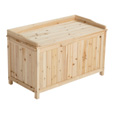 Stonegate Designs Wooden Deck Box — 42 Gallon Capacity, Model# WT-SB214 The price is $97.99.