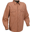 Marino Bay Flannel-Lined Canvas Shirt