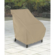Classic Accessories Terrazo Patio Chair Cover — All Weather Protection Outdoor Furniture Cover, Highback, Sand, 32 1/2in.W x 25 1/2in.D x 34in.H, Model# 58932 The price is $17.99.