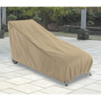 Classic Accessories Terrazzo Patio Chaise Lounge Cover — Medium, Sand, 65in.L x 28in.W x 29in.H, Model# 58952 The price is $22.99.