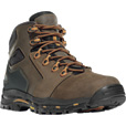 FREE SHIPPING — Danner Vicious 4 1/2in. Waterproof Gore-Tex Non-Metallic Work Boots - Brown/Orange, Size 9, Model# 13860 The price is $179.95.