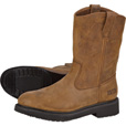 FREE SHIPPING - Gravel Gear Men's 10in. Wellington Boots - Brown, Size 10 1/2 The price is $59.49.