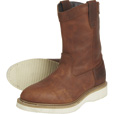 FREE SHIPPING - Gravel Gear Men's 10in. Wellington Boots - Brown, Size 9 1/2 The price is $69.99.