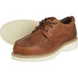 FREE SHIPPING - Gravel Gear Men's 4in. Moc Toe Oxford Shoes - Brown, Size 9 The price is $74.99.