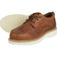 FREE SHIPPING - Gravel Gear Men's 4in. Moc Toe Oxford Shoes - Brown, Size 9 The price is $48.99.