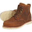 FREE SHIPPING - Gravel Gear Men's 6in. Vibram Moc Toe Work Boots - Brown, Size 14 The price is $104.99.