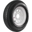FREE SHIPPING — Kenda Loadstar 13in. Bias-Ply Trailer Tire and Wheel Assembly — ST175/80D13, 5-Hole, Load Range D, Model# DM175D3D-5MM The price is $139.99.
