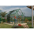 Snap & Grow Greenhouse Extension — 8ft.W x 4ft.L, Model# HG8004G