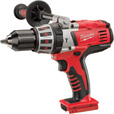 FREE SHIPPING — Milwaukee 28 Volt Cordless Hammer Drill — Tool Only, 1/2 in., Model# 0726-20 The price is $179.99.