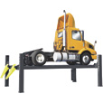 FREE SHIPPING — BendPak 4-Post Truck Lift — 27,000-Lb. Capacity, Model# HDS-27 The price is $13,390.00.
