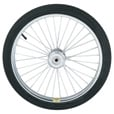 Northern Industrial Tools Tires on Spoked Ball Bearing Wheel—20in. Pneumatic The price is $28.99.