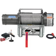 Ramsey Patriot Profile 12 Volt DC Powered Electric Truck Winch with Wireless Remote — 12,000-Lb. Capacity, Wire Cable, Model# 109196 The price is $1,399.99.