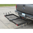 Ultra-Tow 2-in-1 Steel Cargo Carrier with 4-Bike Rack — 500-Lb. Capacity, Model# FTF-2762KR