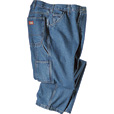 Dickies 14-Oz. Denim Carpenter Jeans — Stonewashed Indigo, 46in. x 30in., Model# 1993SNB The price is $24.99.