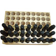 Please see replacement item# 40043. Character LETTER Metal Stamps — 3/16in. Size, 27-Pc. Set