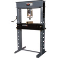 AmerEquip Manual Shop Press with Air Assist — 25-Tons, Model# 212125