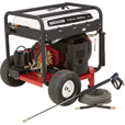 FREE SHIPPING — NorthStar Gas Cold Water Pressure Washer — 5000 PSI, 5.0 GPM, Electric Start, Honda Engine, Belt Drive, Model# 1572091 The price is $3,599.99.