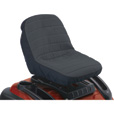 Classic Accessories Deluxe Riding Lawn Mower Seat Cover — Medium, Fits 14in.–16 1/2in.H backrests, Model# 12324 The price is $21.99.