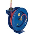 Coxreels P Series Air/Water Hose Reel — With 1/4in. x 50ft. PVC Hose, Max. 300 PSI Model# EZ-P-LP-150 The price is $269.99.