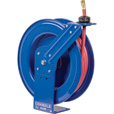 Coxreels SH Series Super Hub Air/Water Hose Reel — With 3/4in. x 50ft. PVC Hose, Max. 300 PSI, Model# SH-N-550 The price is $469.99.