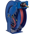 Coxreels T Series Supreme-Duty Air/Water Hose Reel — With 3/4in. x 75ft. PVC Hose, Max. 300 PSI, Model# TSH-N-575 The price is $699.99.