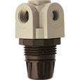 Milton Mini Air Regulator — 1/4in. NPT Inlet, 250 PSI, Model# S-1145