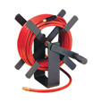 Legacy Air Hose Reel — With 3/8in. x 50ft. PVC Hose, Max. 350 PSI, Model #L8550 The price is $59.99.