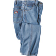 Dickies Men's 14-Oz. Denim Relaxed Fit Jeans - Stonewashed Indigo, 40in. x 30in., Model# 13293SNB The price is $23.99.