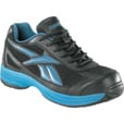 Reebok Men's Cross Trainer Steel Toe EH Work Shoe -  Black/Blue, Size 8, Model# RB1620 The price is $49.99.