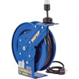 Coxreels EZ-Coil Safety Series Power Cord Reel — 50 Ft., 12/3 Gauge Cord with Single Outlet, Model# EZ-PC13-5012-A The price is $459.99.