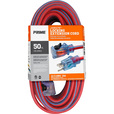 Prime Jobsite Locking Outdoor Extension Cord — 50ft., 12/3 Gauge, Model# KCPL507830 The price is $67.99.