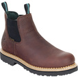 Georgia Giant Men's 5in. Waterproof Romeo Boots — Brown, Size 10, Model# GR500 The price is $114.99.