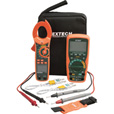 Extech Instruments Industrial DMM/Clamp Meter Test Kit, MA620-K